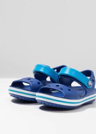 Сандали тапочки крокс crocs bayaband sandal navy