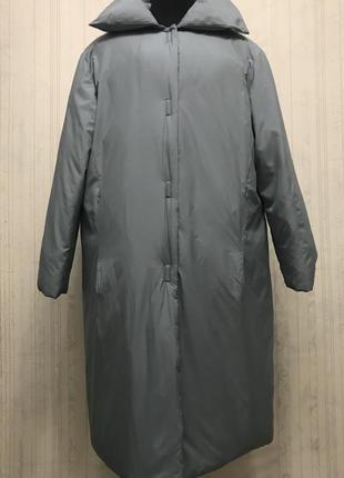 Итальянский пуховик caractere, зимнее пальто