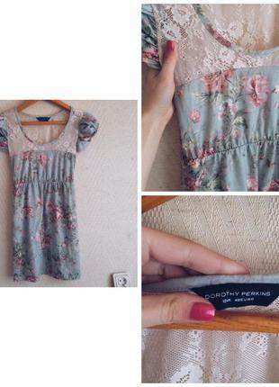 Платье dorothy perkins в цветах