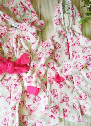 Теплый комплект (пижама -кигуруми + халат )
