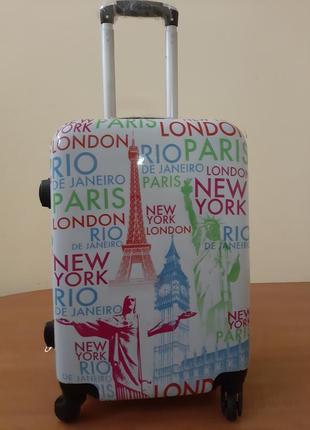Качественный чемодан из поликарбоната ручная кладь
