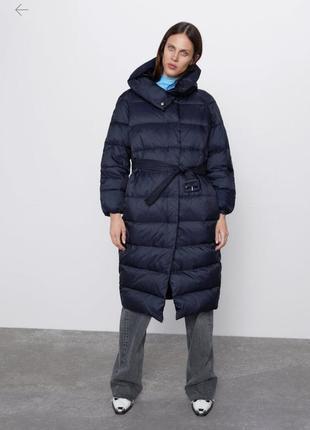 Новый пуховик пальто zara