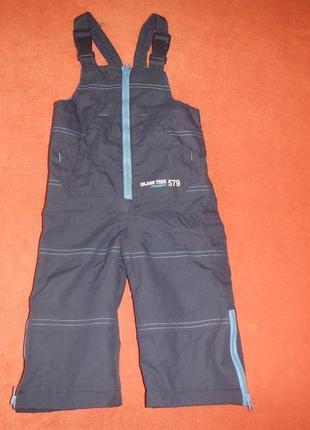 Лыжный полу комбинезон штаны impidimpi р.74-80см еврозима
