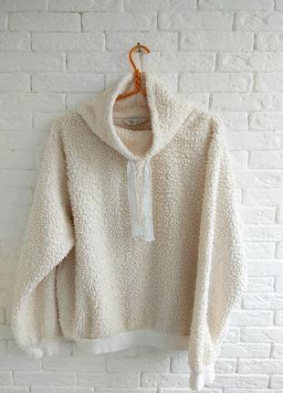 Толстовка кофта свитер под овечью шерсть