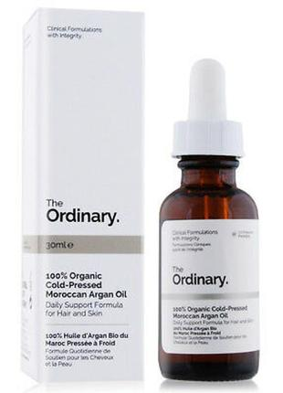 Theordinary - 100% organic cold-pressed moroccan argan oil