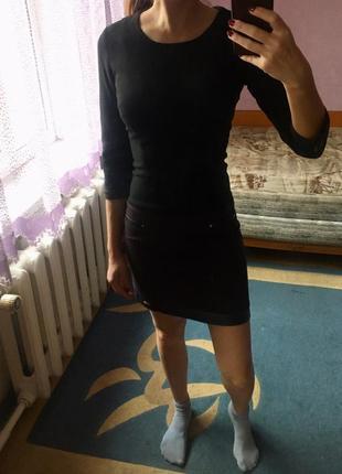 Плотное деми платье!