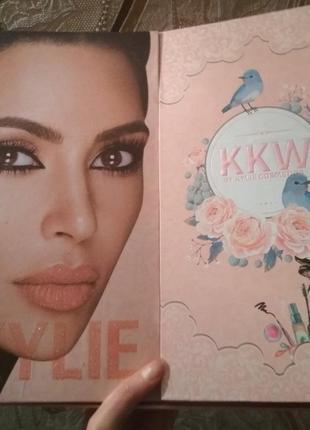 Подарочный набор косметики kylie kkw
