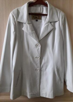 Куртка пиджак  кожа турция