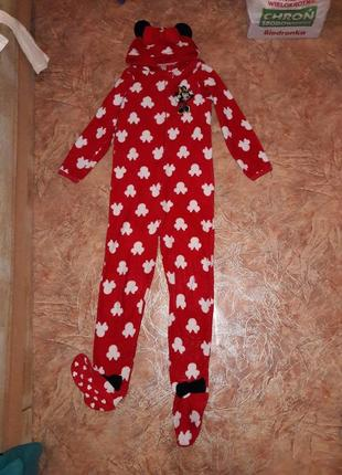 Пижама кигуруми махра primark 13 лет кигуруми слип человечек размер