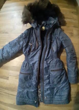 Пуховик пальто синтепон