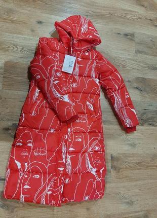 Яркие теплые зимние куртки