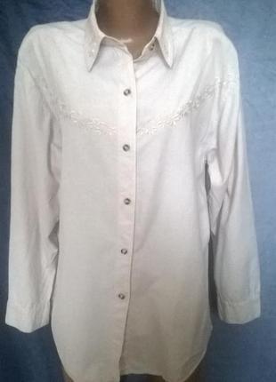 Вышитая блузочка от faseiration,20-22 размер