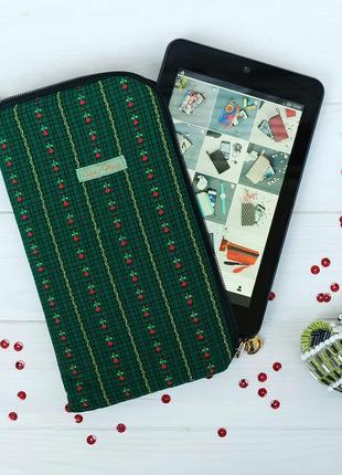 Чехол для платшета, текстильная папка-органайзер для документов 1