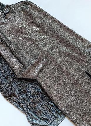 Платье миди topshop с разрезом на ножке