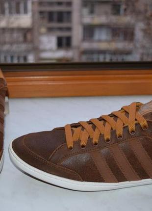 Кожаные кеды, туфли на шнурках, кроссовки adidas