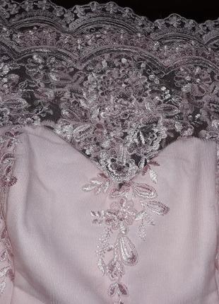 Роскошное платье можно как свадебное4 фото