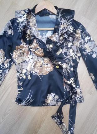 Шикарная #блуза# #жакет# на запах турция размер l-xl