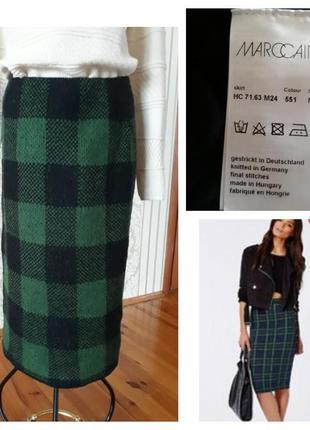 Шикарная оригинальная шерстяная юбка