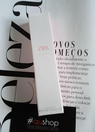 Zara orchid 10мл, ніжний квітковий аромат. парфум! хіт продаж! оригінал, іспанія!