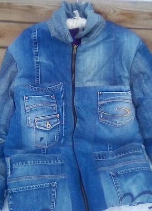 Recycling джинсовый пилот