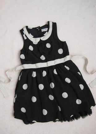 Пышное нарядное платье девочке next сост нового