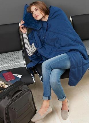Стеганое одеяло с сумкой для путешествий тсм tchibo
