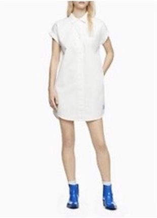 Платье рубашка calvin klein