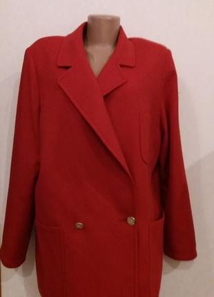 Пиджак  легкое пальто бойфренд шерсть от burberry оригинал с номером