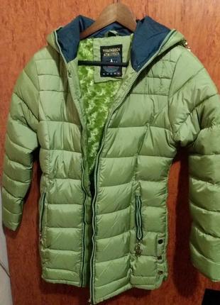 Зимова куртка для дівчинки (164 розмір)