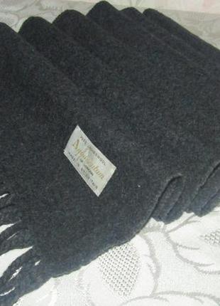 - aquascutum - шикарный шарф 100 % шерсть