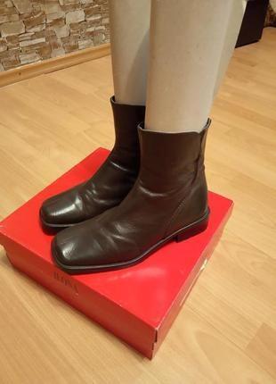 Зимние кожаные ботинки, сапоги, сапожки, ботиночки,полусапоги, ботильоны,мех,eureka.