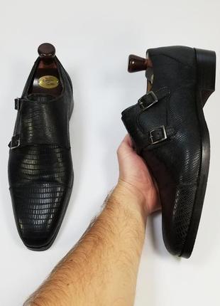 Steve madden made in india туфлі туфли броги оксфорды черного цвета 43 42