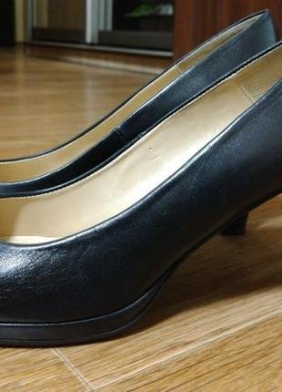 #розвантажуюсь черные кожаные туфли zendra (испания)
