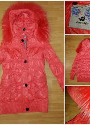 Женская куртка-пуховичок