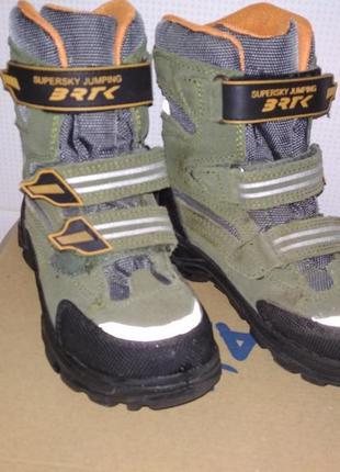 Детские зимние ботинки bartek