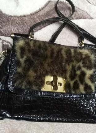 Классная зимняя сумочка