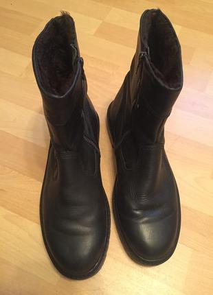 Зимние сапоги ботинки clarks