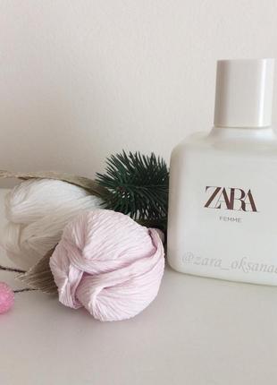 Zara femme духи туалетная вода 100 мо