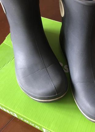 Резиновые сапоги кроксы