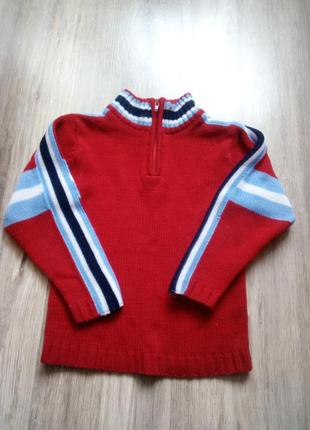 Теплый свитер, р. 110. акция!!!! 1+1=3