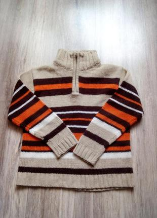 Теплый свитер, р. 104. акция!!!! 1+1=3