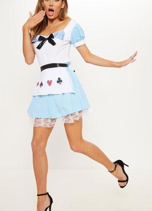 🆘🔥 ликвидация товара🆘🔥    карнавальный костюм алиса в стране чудес
