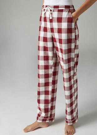 Хлопковые домашние штаны