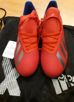 Бутсы, сороконожки adidas x tango 18.3 tf bb9403
