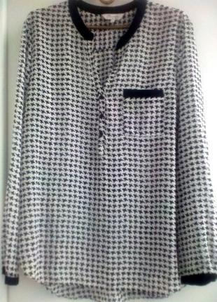 Супер блузка с приспущенной спинкой