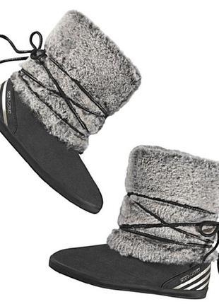 Adidas neo selena gomez ботинки зимние с мехом сапоги замшевые евро зима деми