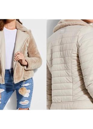 Двухсторонняя куртка-шубка guess1 фото