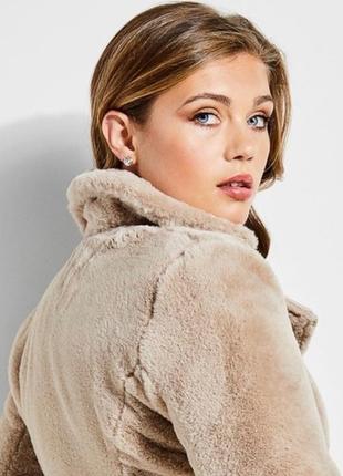 Двухсторонняя куртка-шубка guess3 фото