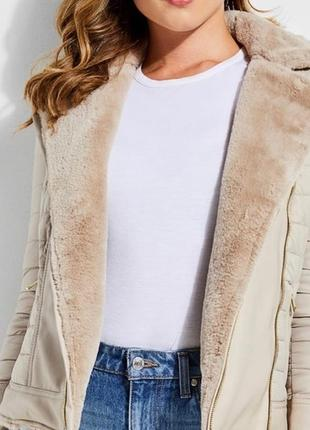 Двухсторонняя куртка-шубка guess4 фото