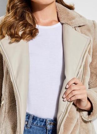 Двухсторонняя куртка-шубка guess7 фото
